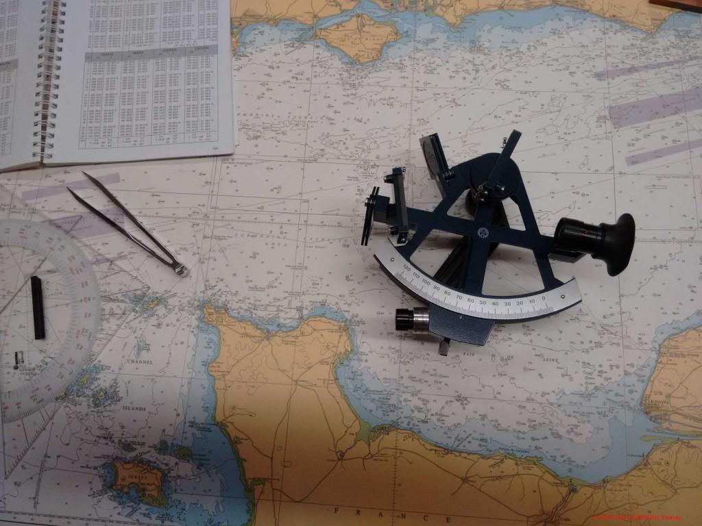 Astronomische Navigation mit dem Sextanten