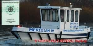 praktische Prüfung Sportbootführerschein Hamburg