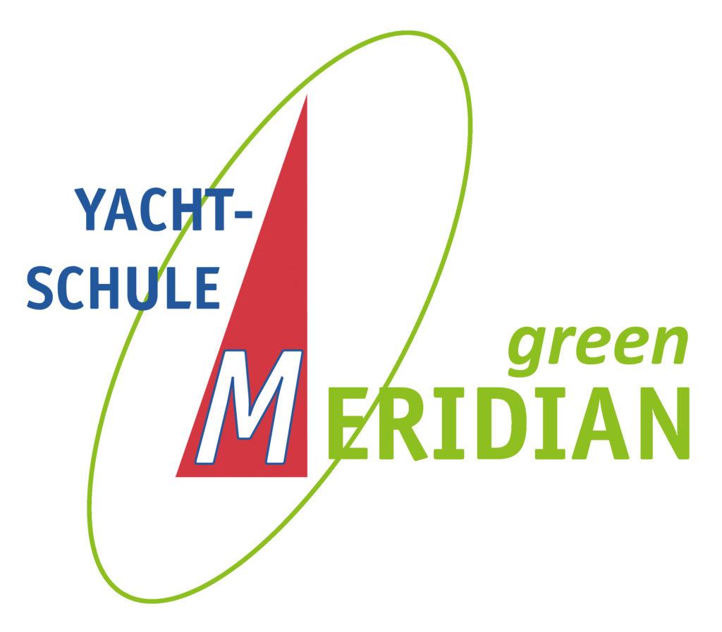 Logo green MERIDIAN - für nachhaltigen Wassersport