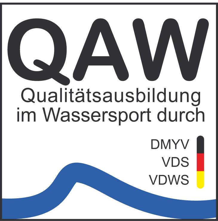 QAW Siegel - Qualitätsausbildung im Wassersport