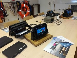 Raymarine-Training an AXIOM-Multifunktionsgeräten mit der LightHouse 3 Software!