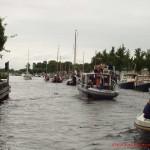 Kanal mit viel Schiffsverkehr, gut wenn man den Motorbootführerschein hat