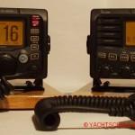 Die Schulung zum Funkschein erfolgt an der Anlage ICOM IC-M505