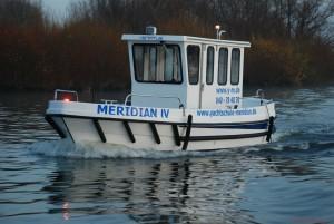 Die MERIDIAN IV für die Sportbootführerscheinausbildung in Hamburg