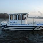 MERIDIAN IV, Das Schulschiff für die praktische Sportbootführerschein Ausbildung in Hamburg.