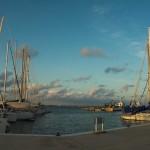 Hafen im Mittelmeer