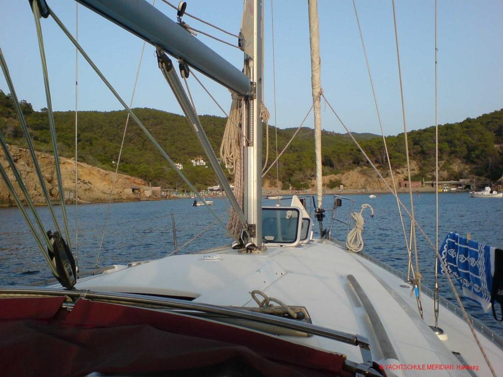 Segeln um die Balearen